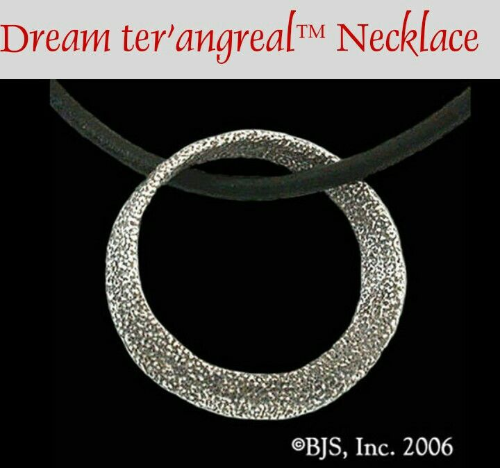 Wheel of Time dream ter'angreal necklace.... I am so getting this ...