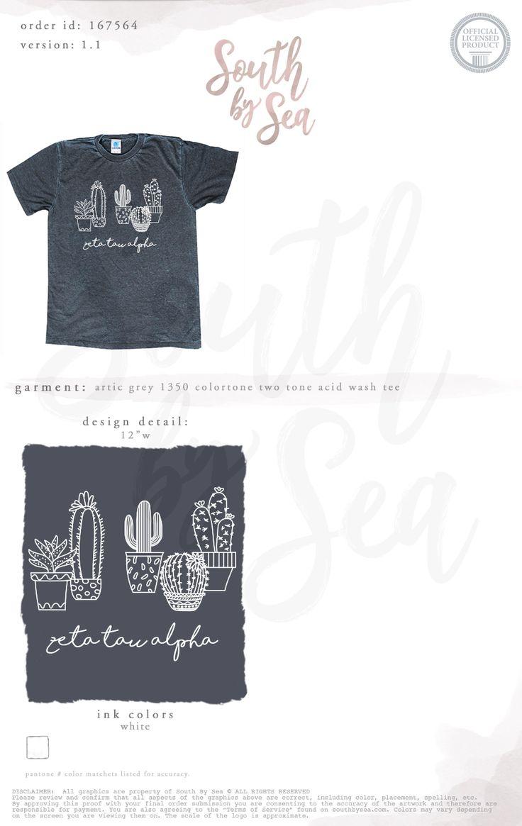 South by Sea | Greek Tee Shirts | Greek Tank Tops | Custom Apparel Design | Custom Greek Apparel | Sorority Tee Shirts | Sorority Tanks | Sorority Shirt Designs | Sorority Shirts | TShirts | Sorority T-Shirts | Classic | Custom Greek TShirts | Greek Life | Sorority Clothes | Sorority T-Shirt Ideas | Custom Designs | Custom | Custom Greek | Sorority | Custom Printed T-Shirts | Recruitment | Cactus | Cacti | Simple | Geometric | Acid Wash | Mineral Wash | Unisex