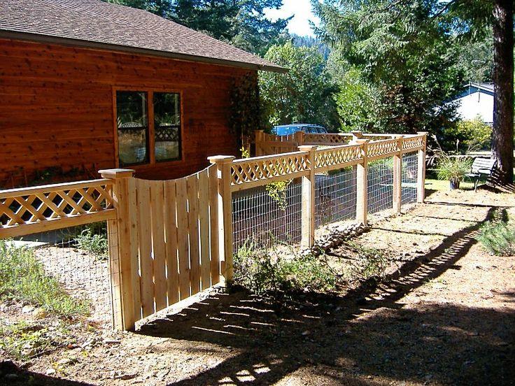 95 best fence images on pinterest garden fences for Good neighbor fence