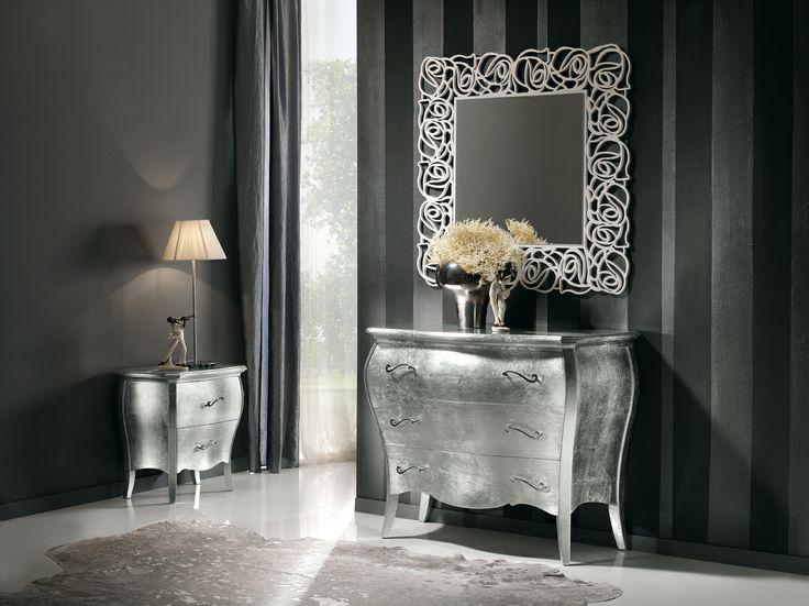 Lucy #silver group dresser #Italian #interior #design