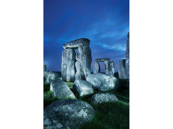What Lies Beneath Stonehenge? by Ed Caesar | History | Smithsonian Magazine, September 2014. Stonehenge. Wiltshire, UK. Neolithic Europe. c. 2500–1600 B.C.E. Sandstone.