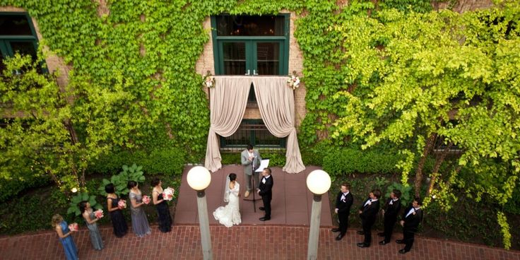 wedding at the Ivy Room
