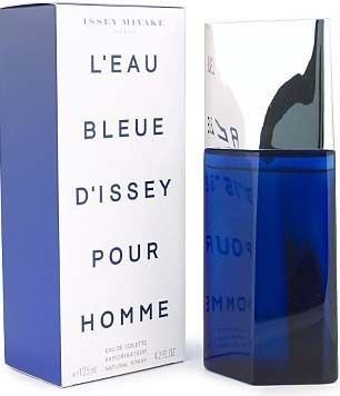 LEau Bleue dIssey Pour Homme Issey Miyake cologne - a fragrance for men 2004 - Top notes are rosemary, lime, mandarin orange and orangewood; middle notes are cypress, ginger, juniper berries, pink pepper and lavender; base notes are sandalwood, amber, patchouli, atlas cedar and oakmoss.