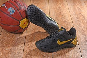 timeless design ca88a 013a0 Men s Nike Kobe AD Mamba Black Metal Gold Kobe Bryant boys Basketball Shoes
