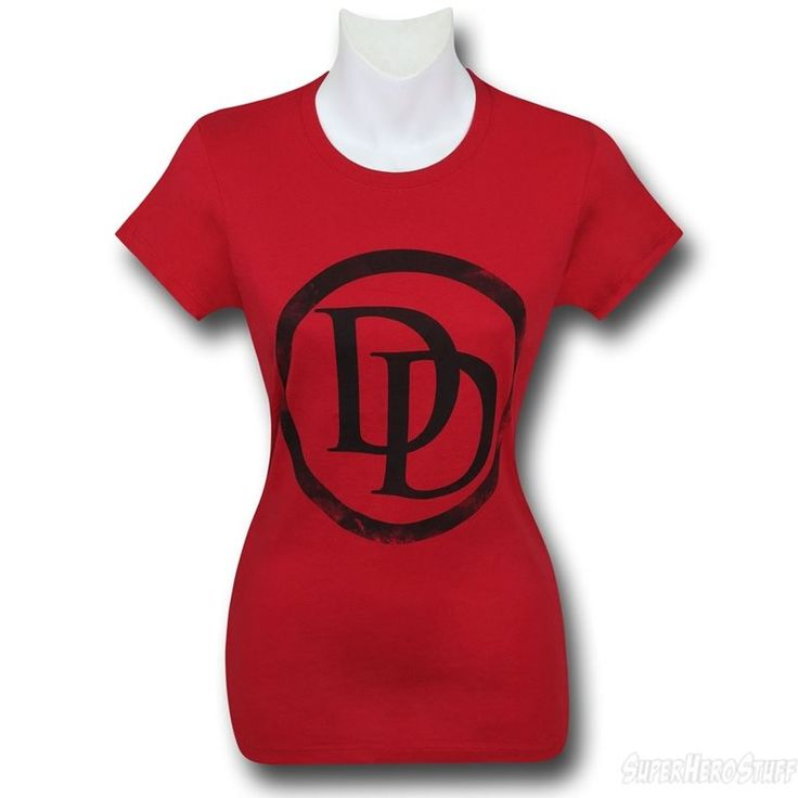 Images of Daredevil Symbol Red Women's T-Shirt