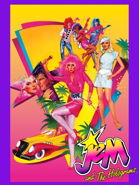 Jem awesome 80's Cartoon