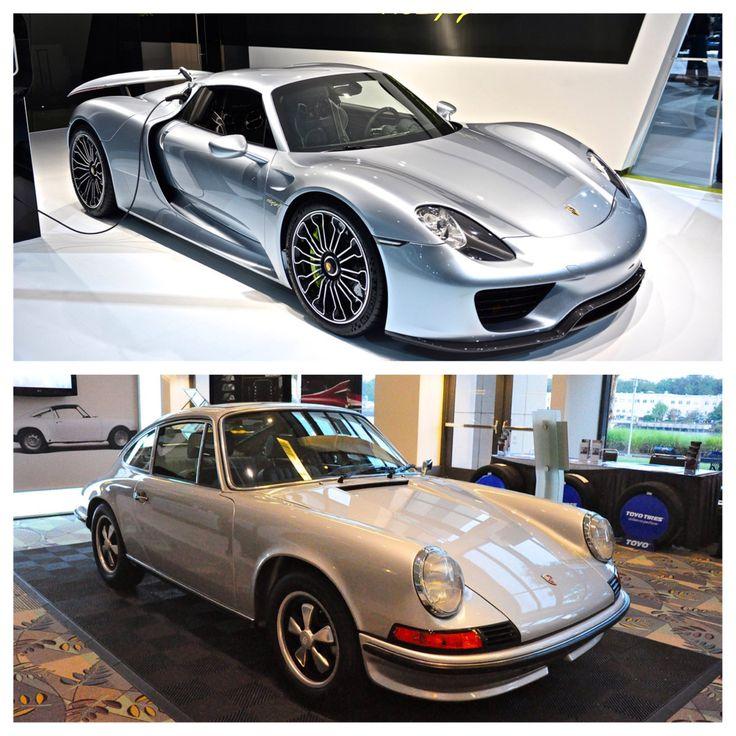 A New Porsche 918 And An Old Porsche 911T