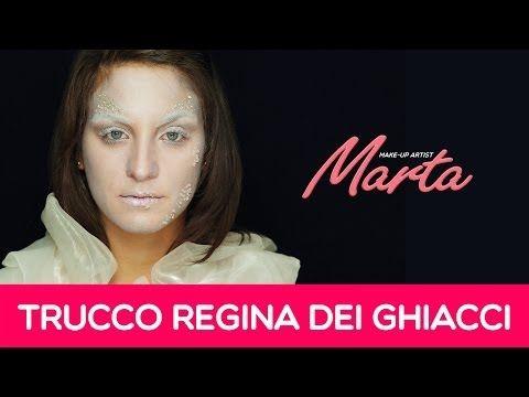 Come truccarsi per Halloween   Trucco Regina delle Nevi   Marta Make-up Artist