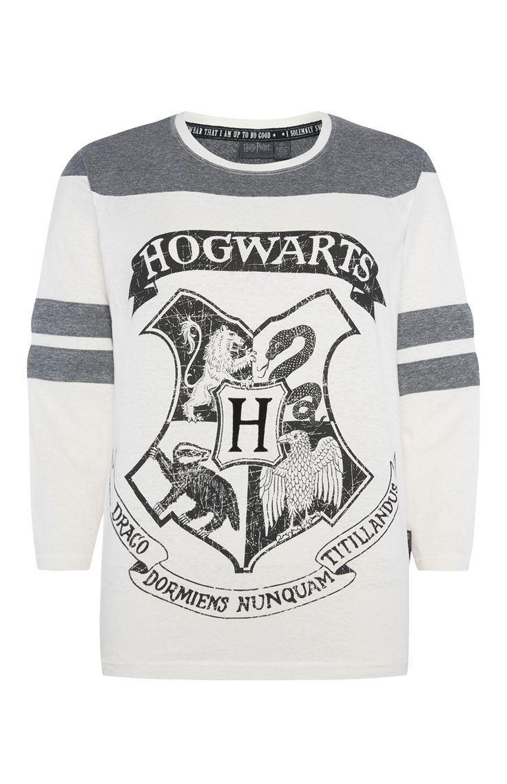 """Harry Potter"" Pyjamatop im Raglan-Stil"