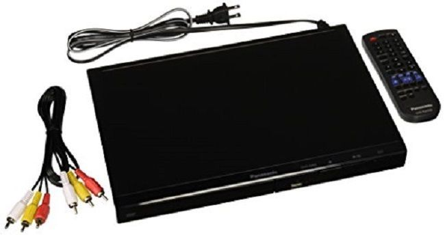 Multi Region DVD Player Portable Movie Panasonic DVD-S500P-K All Code Zone Free  #Panasonic
