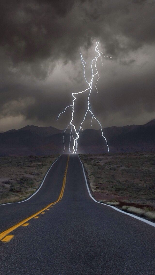 Keep Going Roads Lightning Photography Lightning Nature