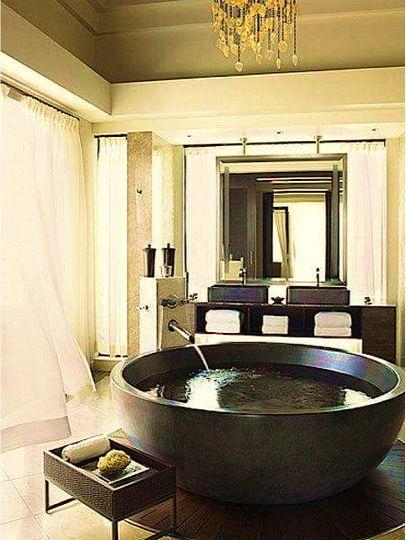 99 best Baños images on Pinterest Grey bathrooms, Small half baths