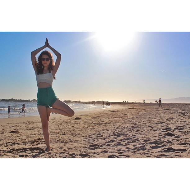 Erin Sanders - Yoga on the Beach