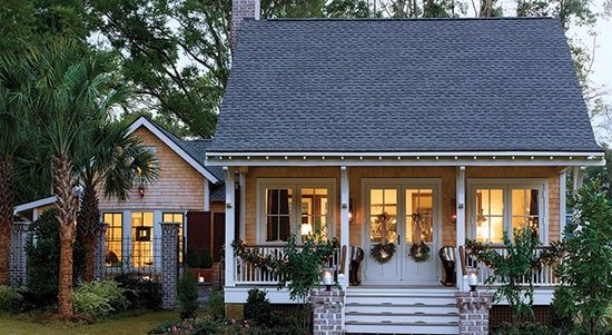 Same features (minus dormer) as expensive Low-country home...maybe more affordable: Southern Living House Plans