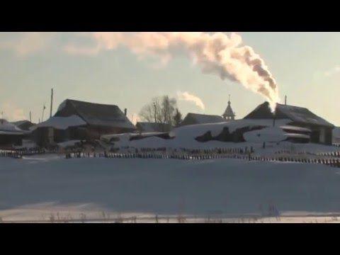 Жизнь в Сибири на реке Енисей - YouTube