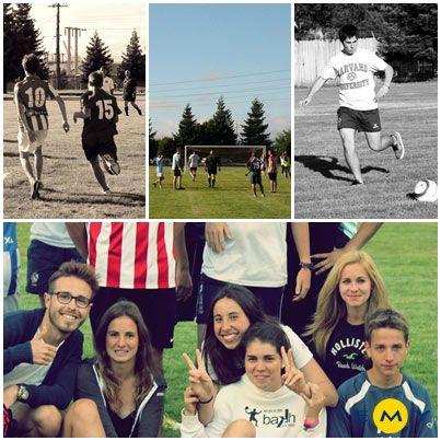 EMY Cursos en el extranjero Cursos de inglés en Estados Unidos. Programas de inmersión en familia en USA #SFO Actividades #Deportes