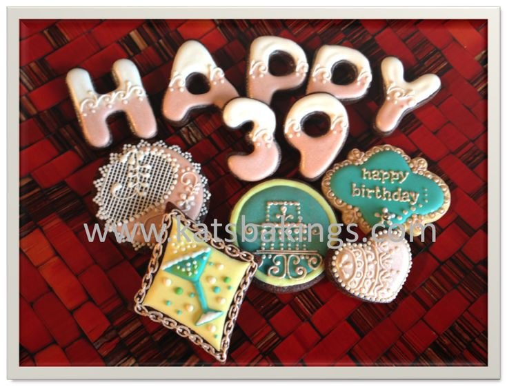 Happy 39th Birthday | Cookie Connection