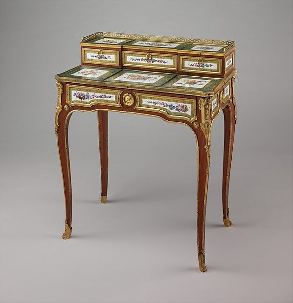 The 1795 Inventory Of Furniture Belonging To Louis XVIu0027s Sister In Law,  Marie Thérèse Of Savoy, Comtesse Du0027Artois Gives A Description Of A Similar  Desk, ...