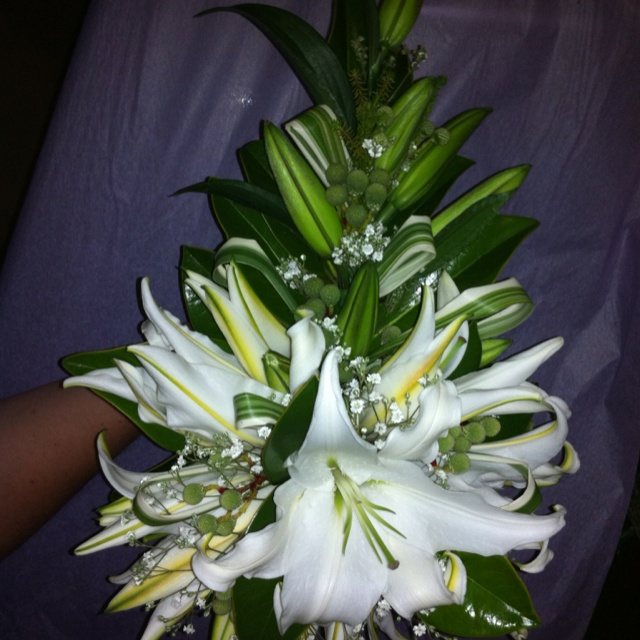 Lovely lilies for bridal bouquet... Pollinate