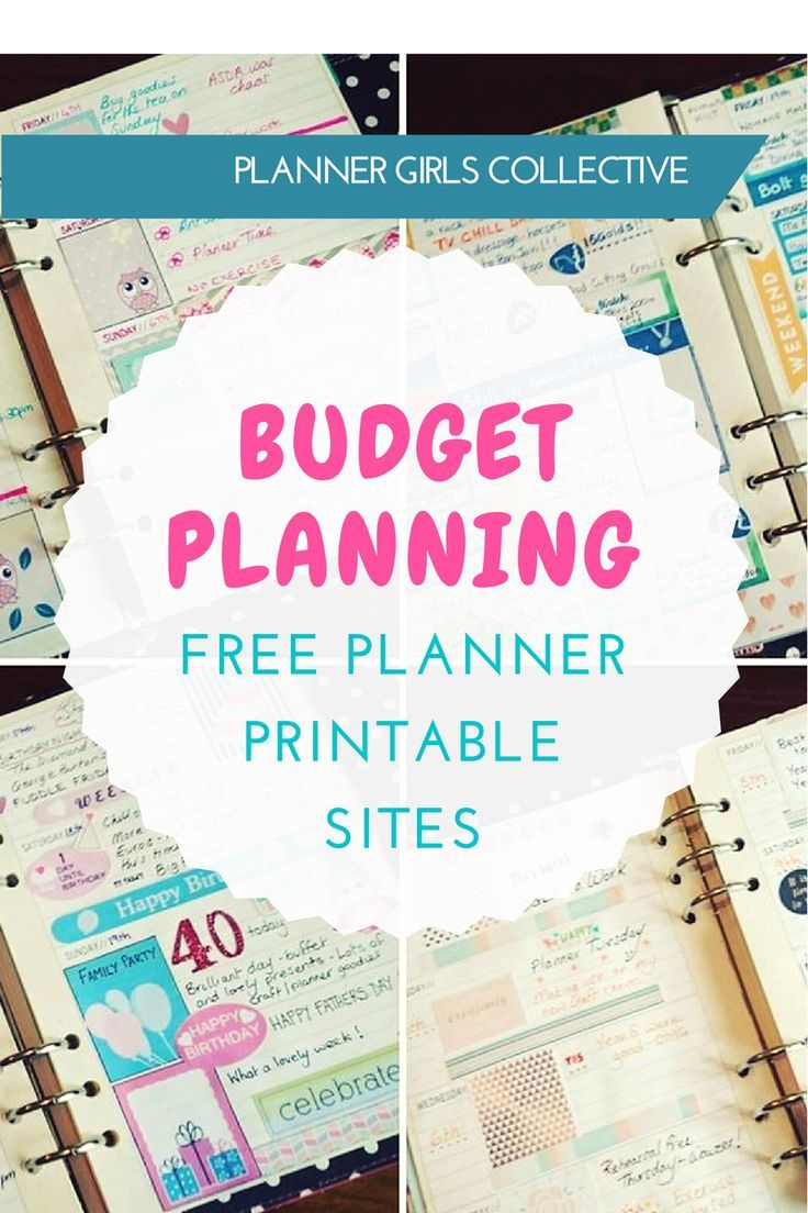 Planning on a Budget: my favourite free planner printable sites and printable organisation - Kerrymay._.Makes