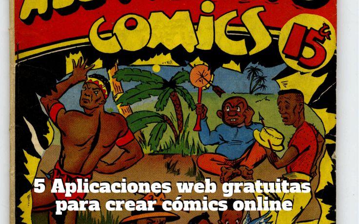Nuestra selección con las cinco mejores aplicaciones web gratuitas para crear cómics online sin necesidad de dibujar. ¡Diviértete!