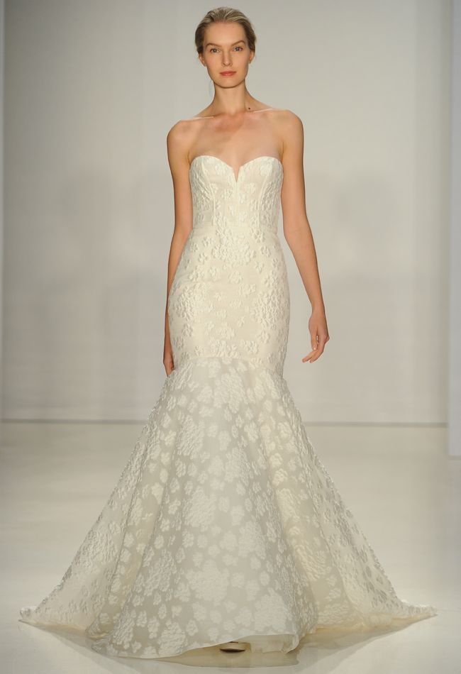 Amazing Amsale Wedding Dresses Are Big on Texture for Fall