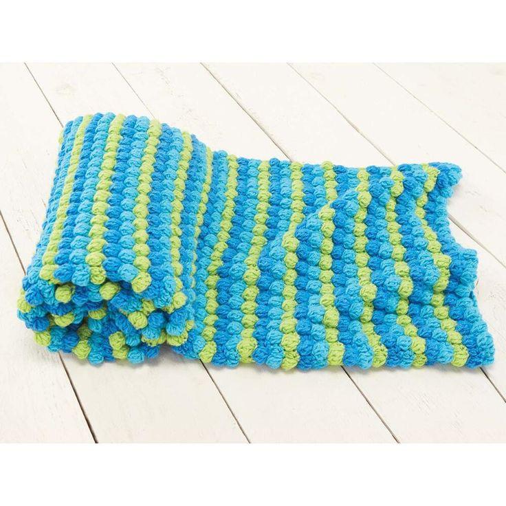 Bobble Baby Blanket & Play Mat Crochet Afghan Kit