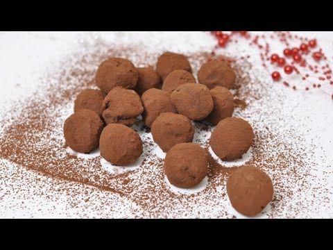 Рецепт: Шоколадные трюфели