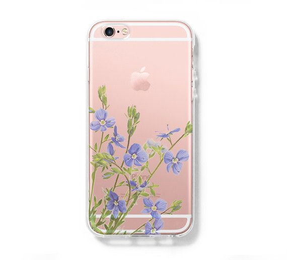Flower Spring iPhone 6 Clear Hard Case, iPhone 6s Plus ...