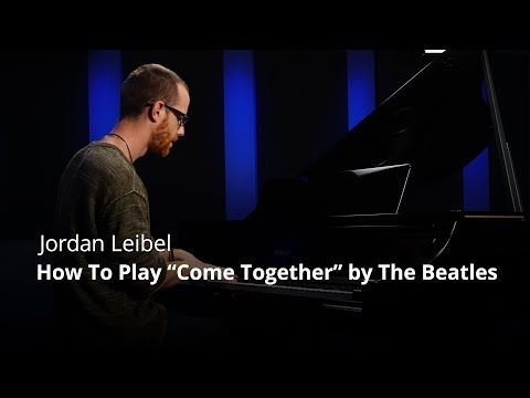 """(7) How To Play """"Come Together"""" by The Beatles - Piano Live Lesson (Pianote) - YouTube"""