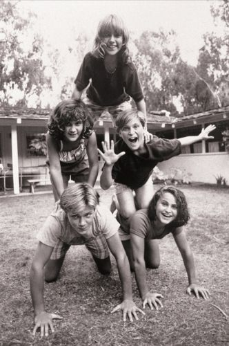 River Phoenix and family