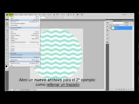 N.M. Galletas Artesanas: Usar motivos en Photoshop