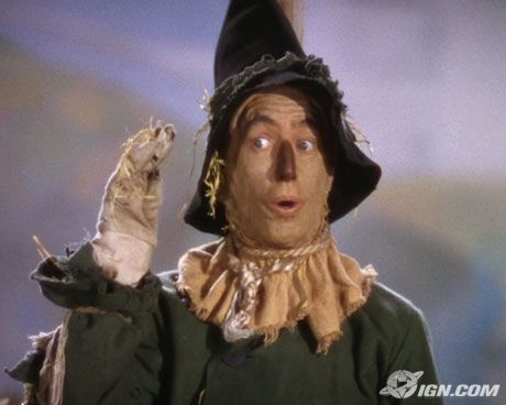 Wizard of OZ scarecrow   If I only had a brain