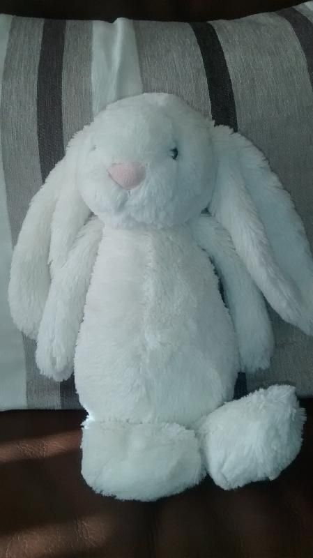 Found on 16 May. 2016 @ Corner of Russetts Drive/Byron Close, Fleet, GU51. Found on our way home from school lying half in the road. He looks quite new with the quality control sticker still attached to the label. We've taken him in until we can reunite him with his owner... Visit: https://whiteboomerang.com/lostteddy/msg/26q0xq (Posted by Ruth on 16 May. 2016)
