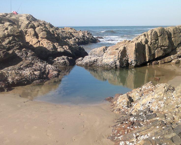 Die waterpoel by Marina-strand, San Lameer.