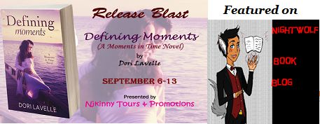 #ReleaseBlast Defining Moments by @dorilavelle on @43v3rsweet Night Wolf Book Blog..Checkout the book and enter the #Giveaways to win a KIndle, $10 Amazon GC and the complete Moments in Time Novella Collection!  http://nightwolfbookblog.blogspot.in/2014/09/release-blast-giveaway-defining-moments.html