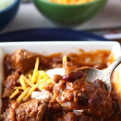 Cowboy Chili - Chunky Style