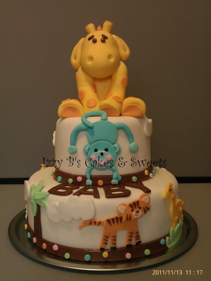 jungle baby showers animal baby showers jungle cake jungle party baby