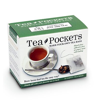 TEA POCKETS  (fill-your-own tea bags)