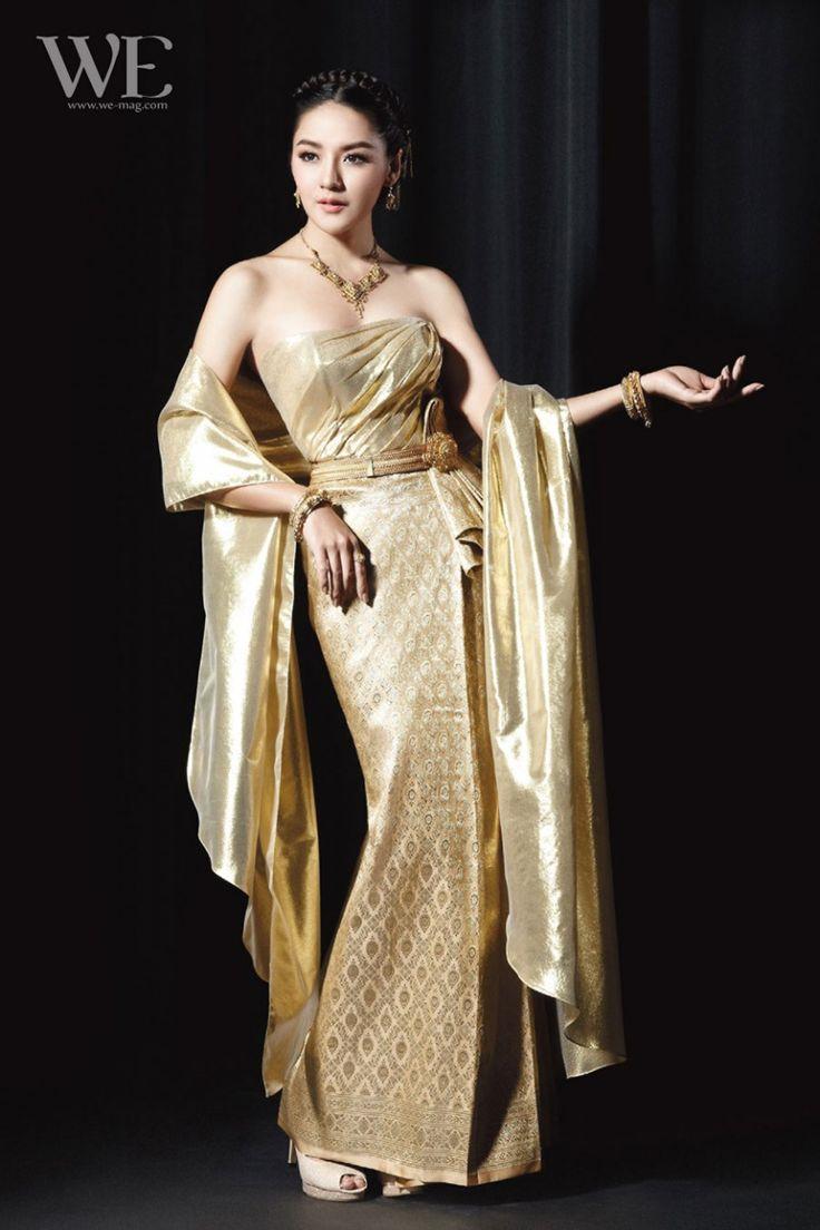 233 best thai dresses images on pinterest thai dress for Thai style wedding dress