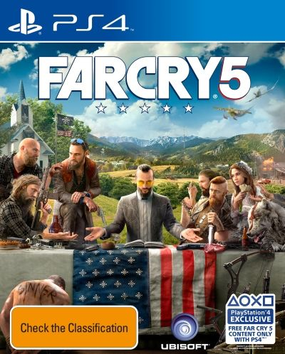 Far Cry 5 First Person Shooter, PlayStation 4   Sanity