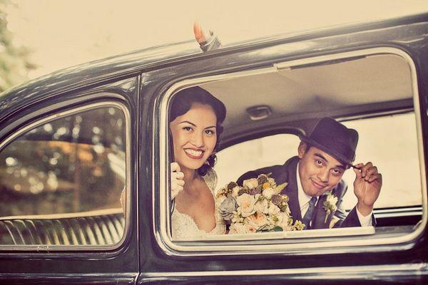 Mariages Rétro: Ces mariages qui font rêver : Joann et Jo
