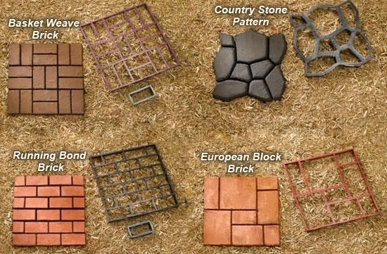 QUIKRETE® - Building Paths with the WalkMaker® has instructions and amounts of concrete needed                                                                                                                                                      More