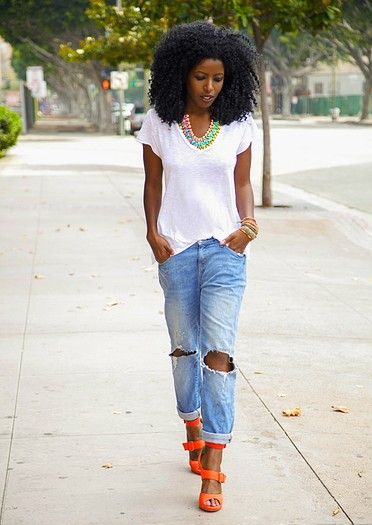 10 Cool Ways To Wear Boyfriend Jeans This Summer | The ...
