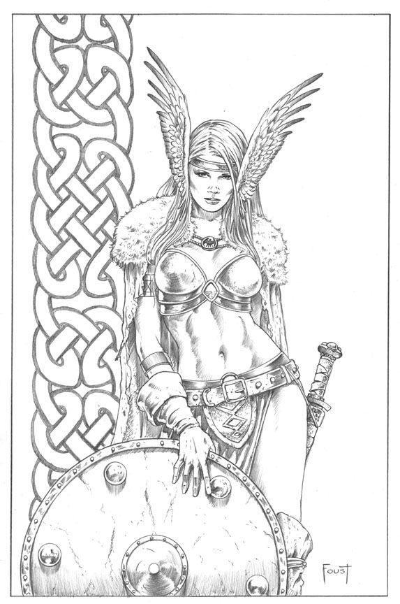 Shield Maiden. by MitchFoust.deviantart.com on @deviantART