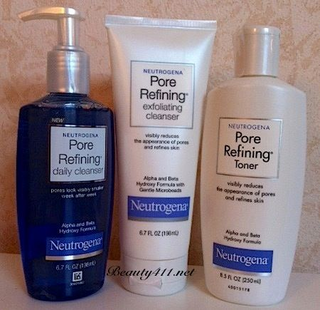 The Neutrogena Pore Refining Collection…let's get small!