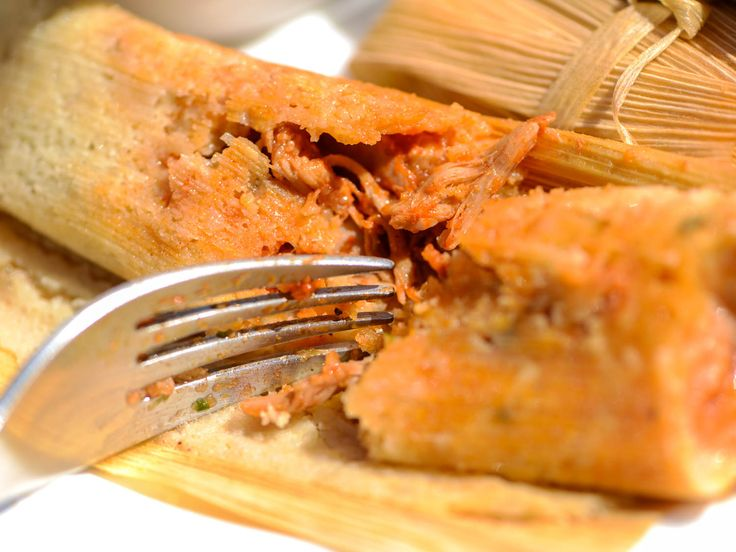 A combo of guajillo, ancho, and arbol chiles gives this red chili sauce its earthy, smoky, and spicy complexity. It's folded into an airy and flavorful tamale dough, then steamed in corn husks until light and tender.