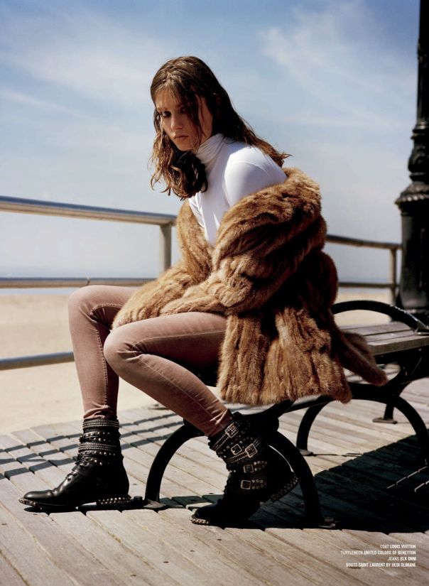 Andreea Diaconu by Alasdair McLellan for V Magazine