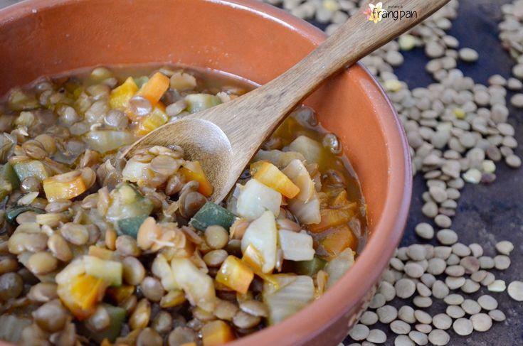 Zuppa di Lenticchie Lentils Soup