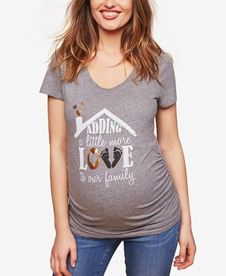 0a57ded7f59f9 Shop Motherhood Maternity Graphic T-Shirt online at Macys.com. With an  adorable